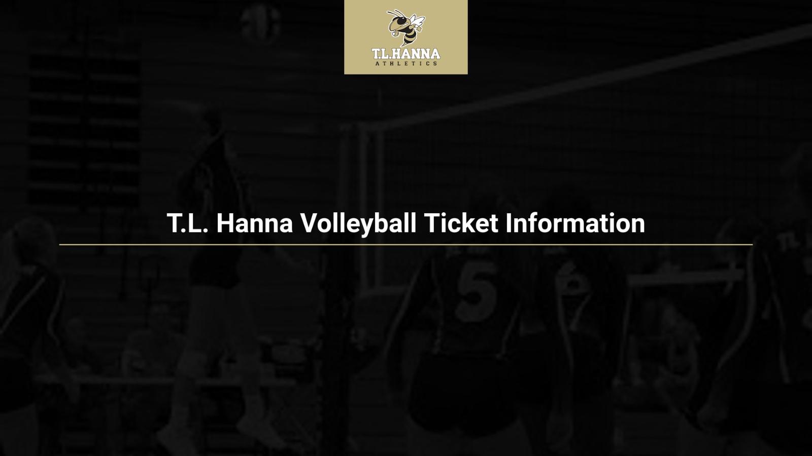 2020 Volleyball Ticket Information