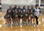 Varsity Volleyball remains undefeated at 15-0, winning the Courtside at Rocky Top Tournament!
