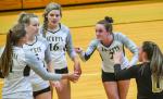 Varsity Volleyball beats Easley 2 – 0