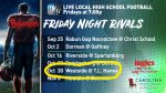 Tickets for Football Game vs. Westside are SOLD OUT!