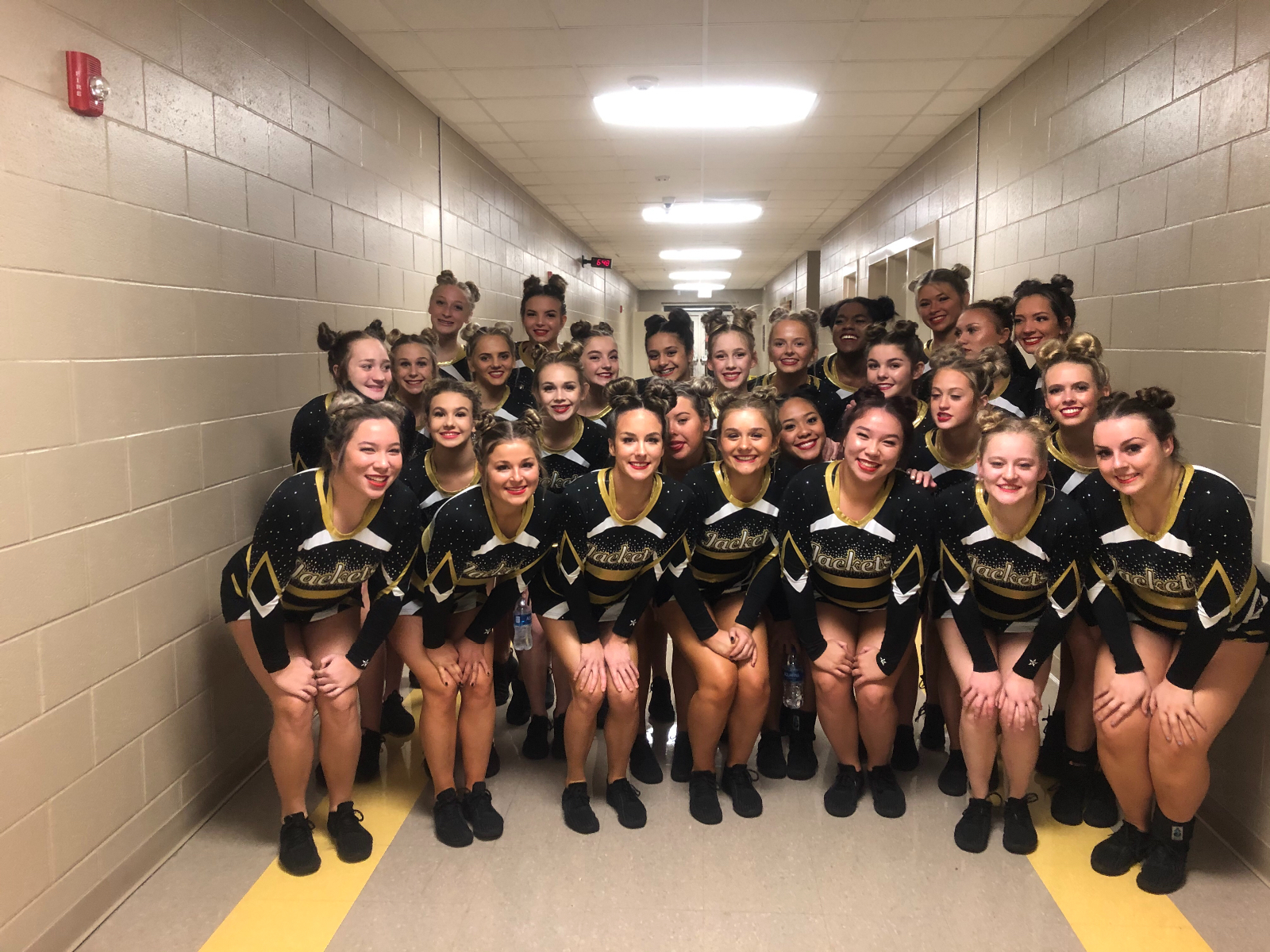 Region Champs in Cheer!