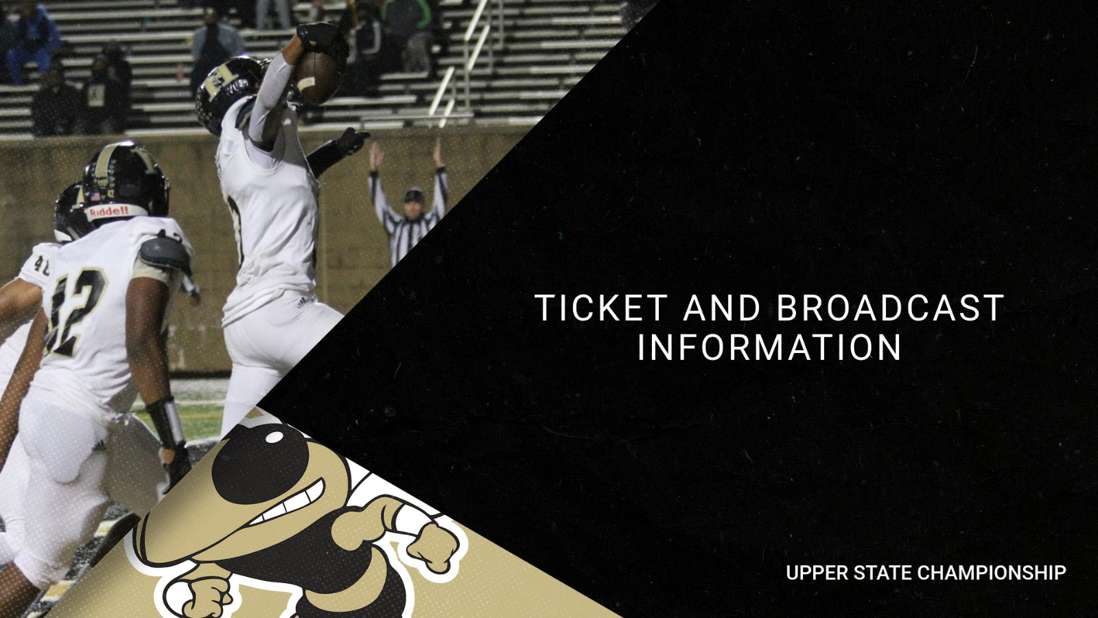 Upper State Football Championship Game Info