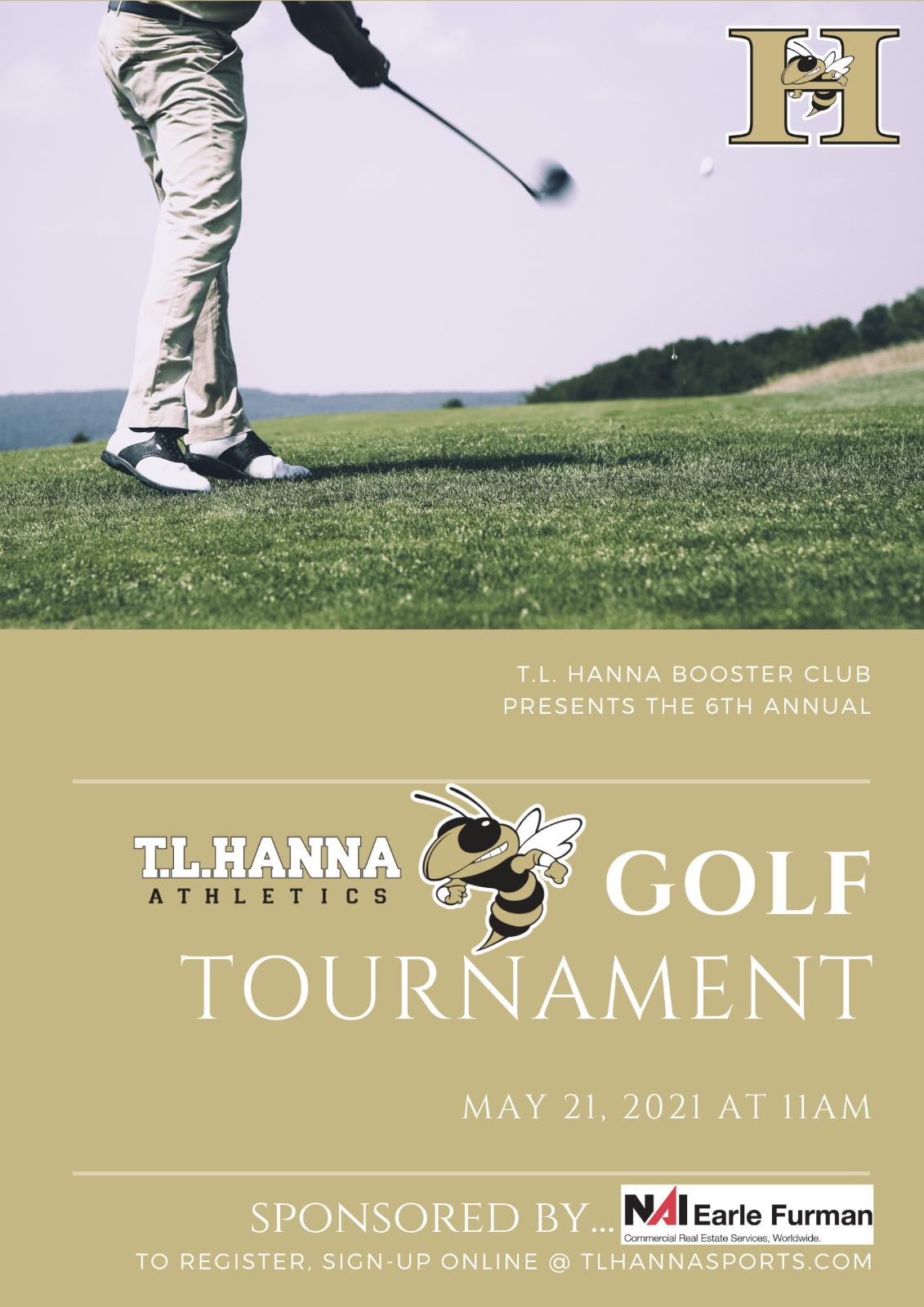 TL Hanna HS Booster Club 6th Annual Golf Tournament