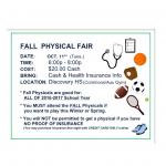 Fall Physical Fair