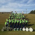 Marching Titans Earn First Band Awards in School History
