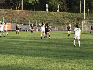 Girls Varsity Soccer vs North Springs