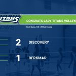 Girls Varsity Volleyball beats Berkmar 2 – 1