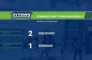 Volleyball Defeats Berkmar 2-1