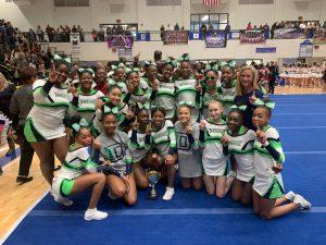 Competition Cheerleading- 2019 Region 6-AAAAAAA Champions!!!