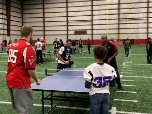 Atlanta Falcons- Salute to Service Ping Pong Tournament