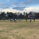 Flag Football Playoffs- Round 1 Win 21-0 vs. Berkmar 11-21-2019
