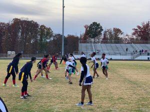Flag Football Playoffs- Round 1 Win 21-0 vs. Berkmar 11-21-2019