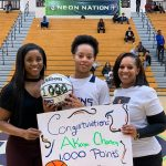 Girls' Basketball Looks to Make History- Akaya Chaney Scores her 1000th point