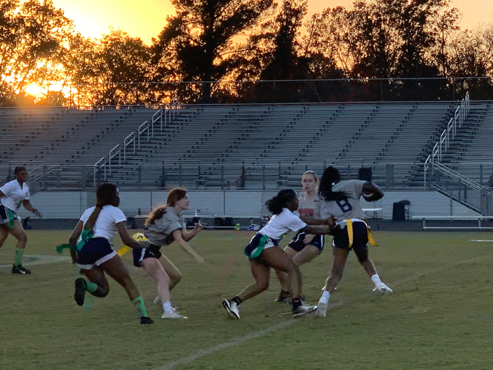 Flag Football Wins 2 More!  13-6 vs. Dunwoody and 44-0 vs. Duluth