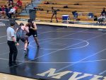 Wrestling Team Qualifies for State Duals- Photo Gallery