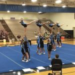 Cosby High School Girls Varsity Competitive Cheer finishes 1st place