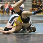 Wrestling Team wins 3 – Stefanko Earns his 100th