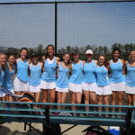 Cosby High School Girls Varsity Tennis beat Franklin County High School 9-0