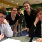Forensics Team Competes in States