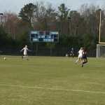Cosby High School Girls Varsity Soccer beat Manchester High School 7-0