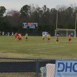 Cosby High School Boys Varsity Soccer beat Manchester High School 4-0