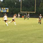 Cosby High School Girls Varsity Field Hockey beat Clover Hill High School 4-0