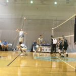 Cosby High School Boys Varsity Volleyball falls to Deep Run High School 3-1