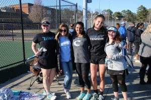 Girls Tennis 2017-18