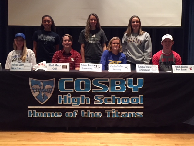 Congrats to Our Spring NLI Signers