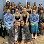 Girls Varsity Swimming Finishes 4th place at Hanover Hawks Invitational