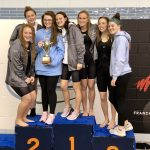 Girls Varsity Swimming finishes 2nd place at Regionals