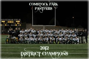 CP Varsity Football- District Champs