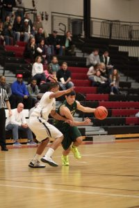 CP Boys Bball VS West Catholic District game
