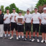 Comstock Park High School Boys Varsity Golf finishes 1st place