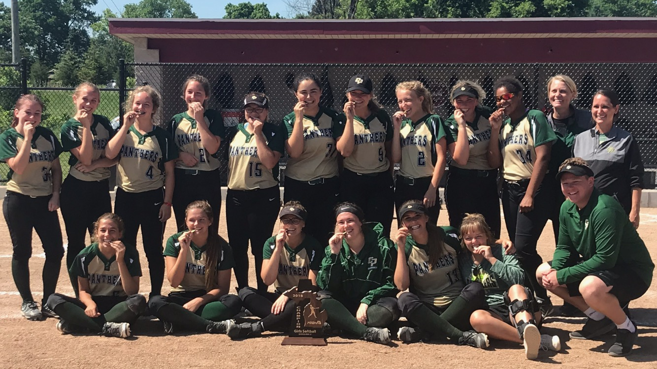 Softball Captures MHSAA District Championship