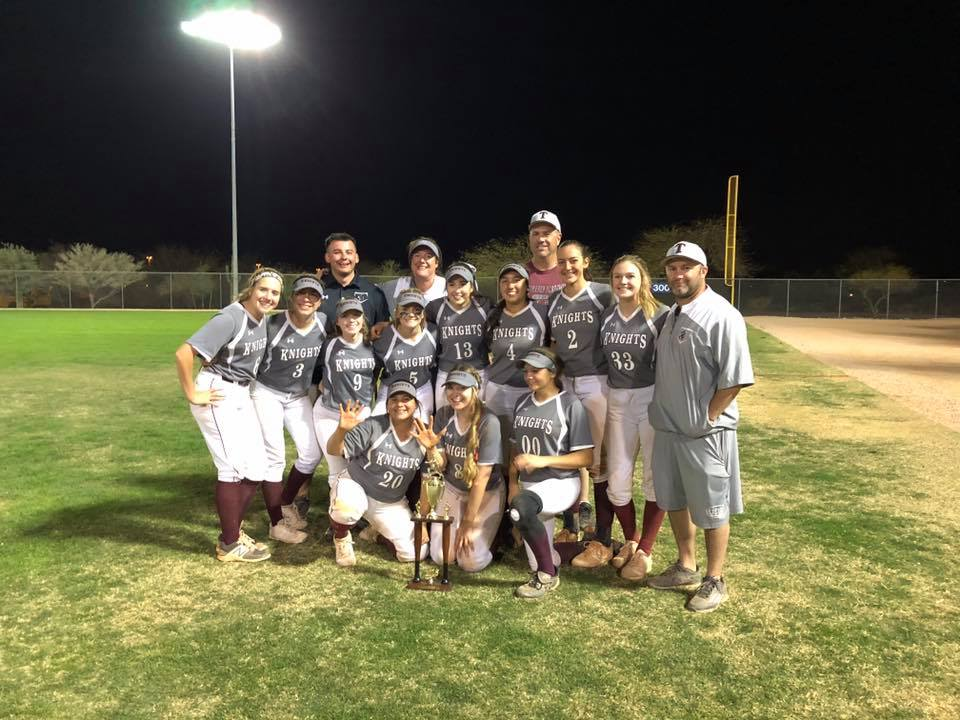 Lady Knights Varsity Softball Ranked 8th In State