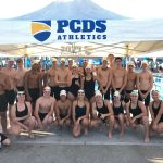 Group photo of the swim team.