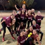 Nadia's Two Dingers LIfts the Lady Knights over Glendale Prep 10-3