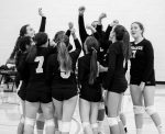 Girls Varsity Volleyball beats Kingman Academy  3 – 0