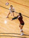 Girls Varsity Volleyball beats St. John Paul II 3 – 0