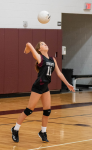 Middle School Volleyball A Splits Double Header With North Phoenix