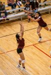 Girls Varsity Volleyball beats St John Paul II Catholic 3 – 0