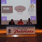 Old Mill Student/Athletes sign to play at the collegiate level