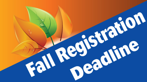 Fall Sports Registrations Due on Wednesday, August 8th