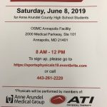 Free Sports Physicals Offered for AACPS Student/Athletes