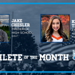 And the Longmont Ford October Athlete of the Month is…