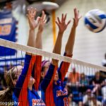 Volleyball Splashes the Lakers