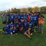 Miller Blue Wins First K-8/MS Soccer Tournament!