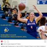 Margie Clauss headed to Carleton College