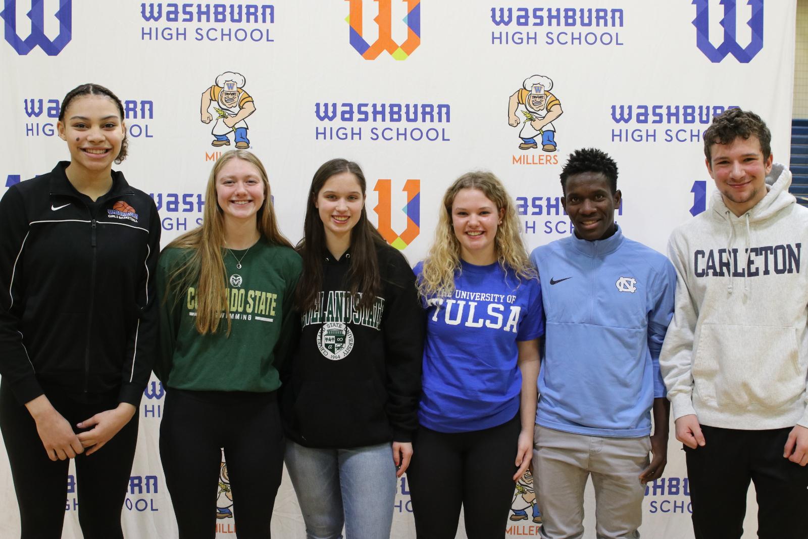 Washburn Student-Athletes Sign